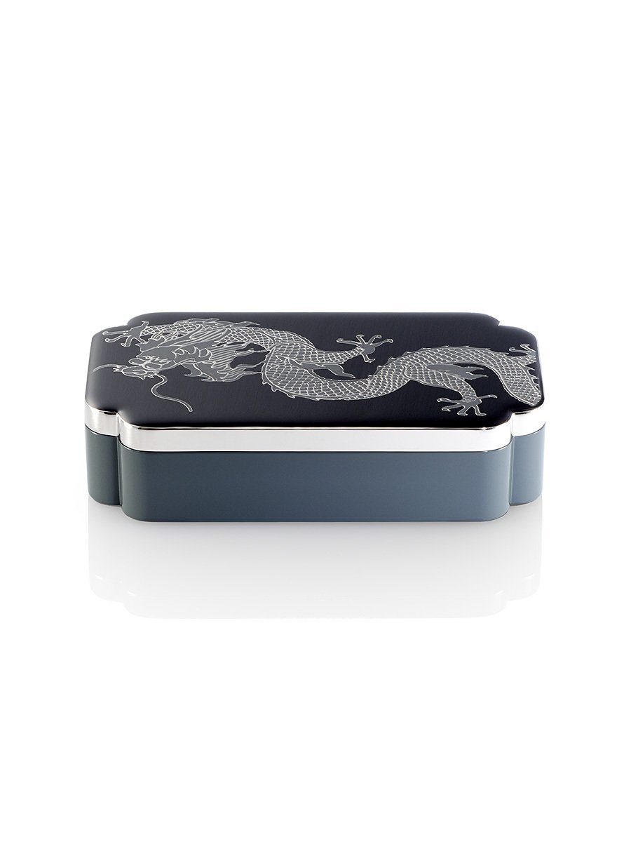 Dragon Rectangular Enamel Box