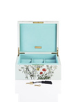 Forbidden Garden Lacquer Jewellery Watch Box Medium