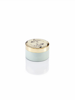 Koi Enamel Round Small Box