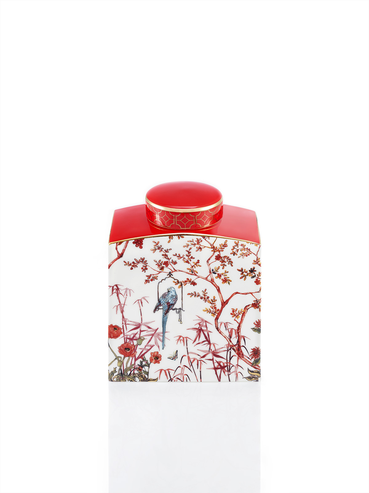 Forbidden Garden Bone China Jar Small