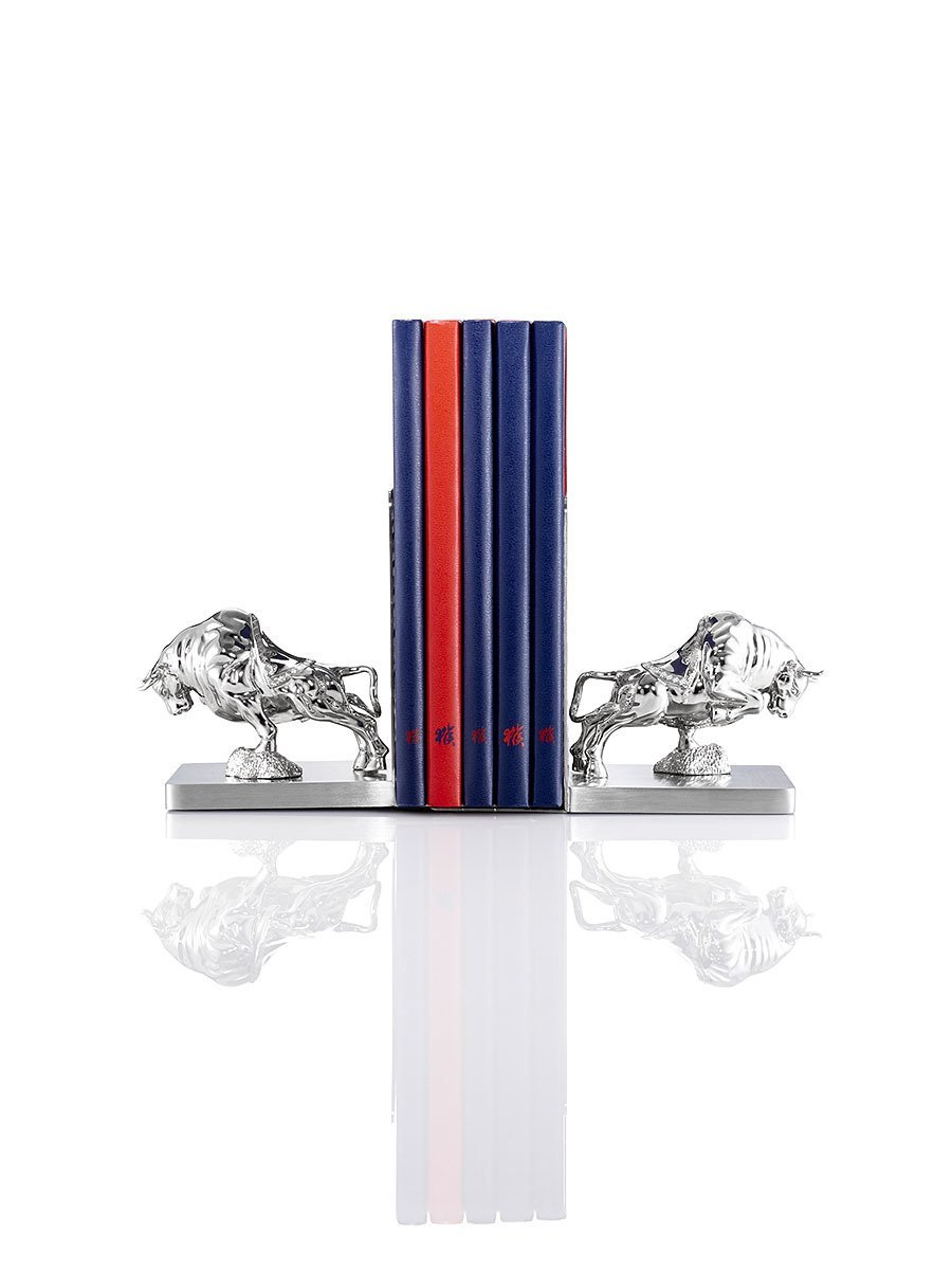 Ox Bookends
