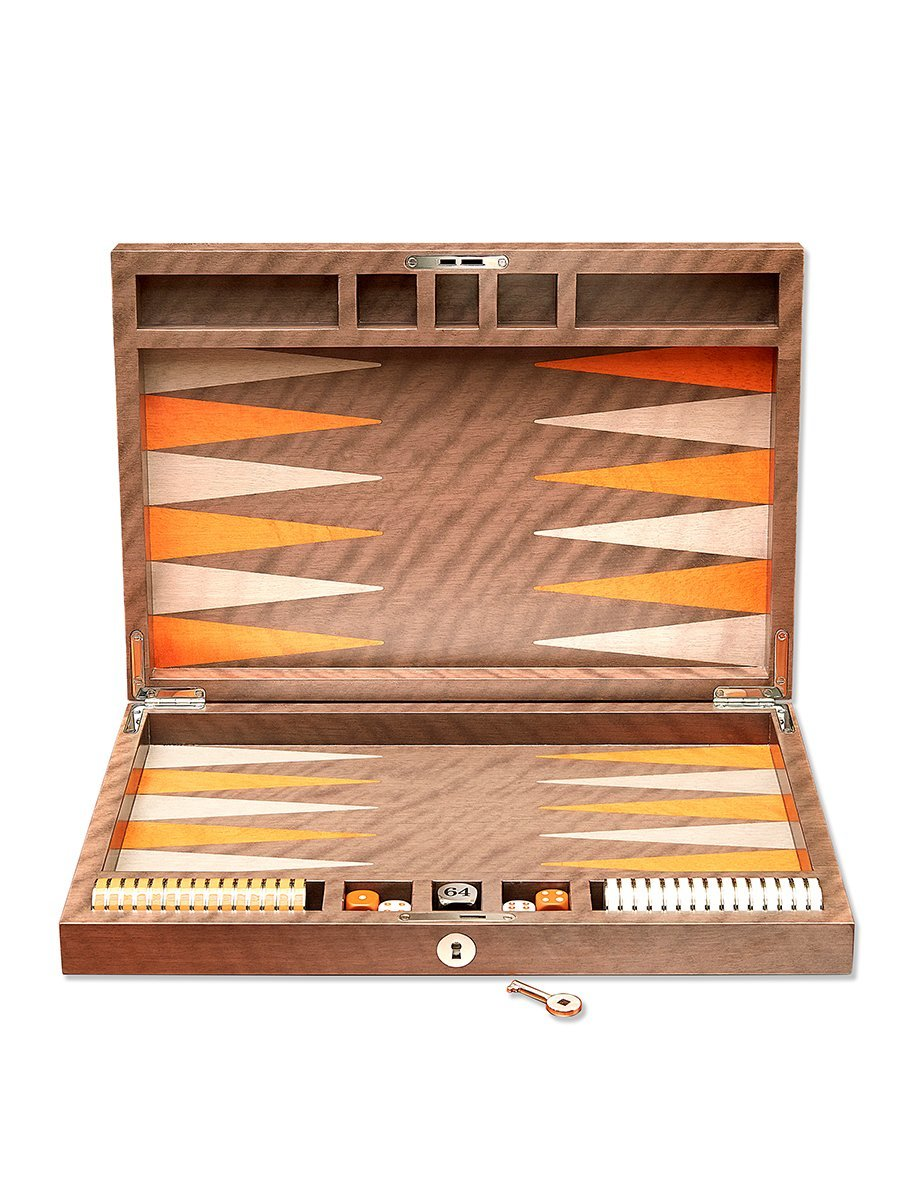 Coin Backgammon Set