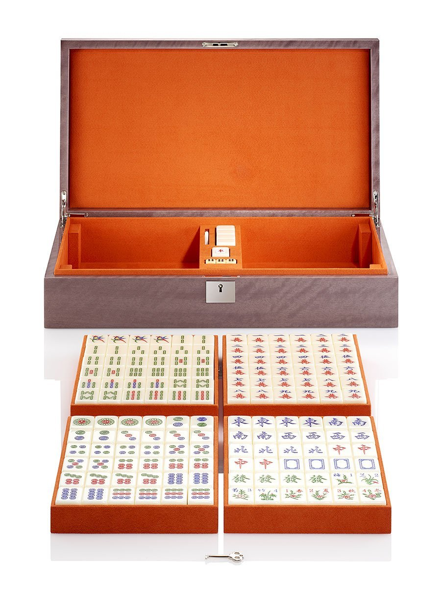 Four Wind Mahjong Game Set