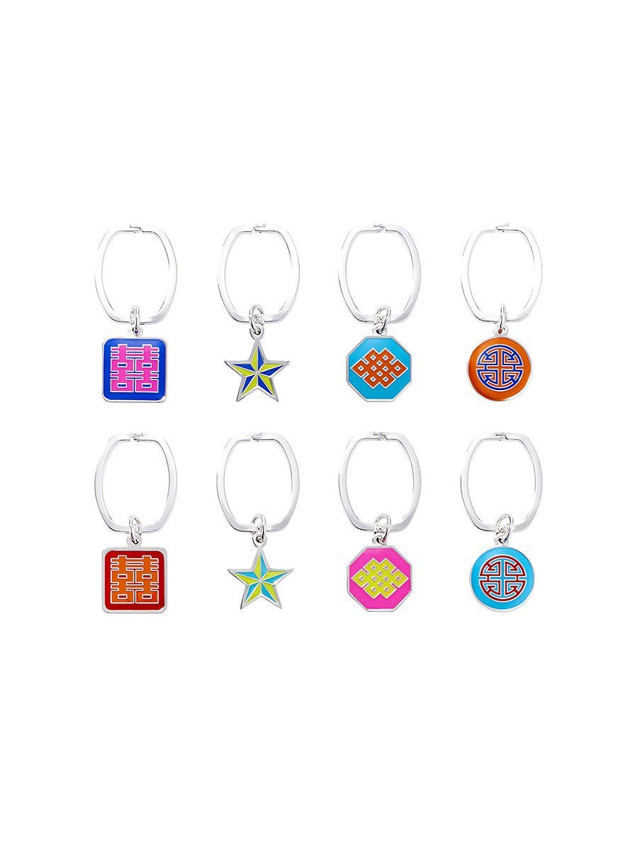 Luck Wine Charms (Set of 8)