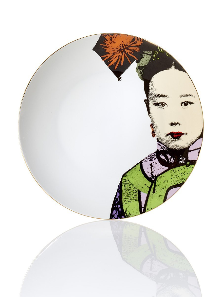 Empress Colour Decorative Plate