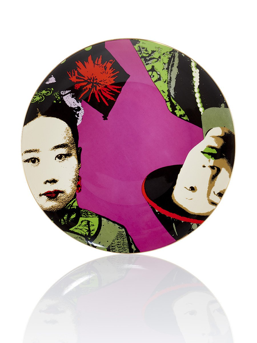 Puyi & Empress Duo Plate