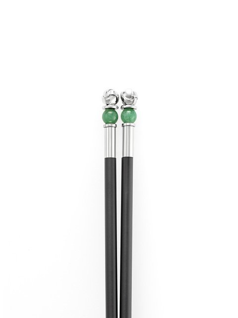 Jade Inspired Knot Chopsticks