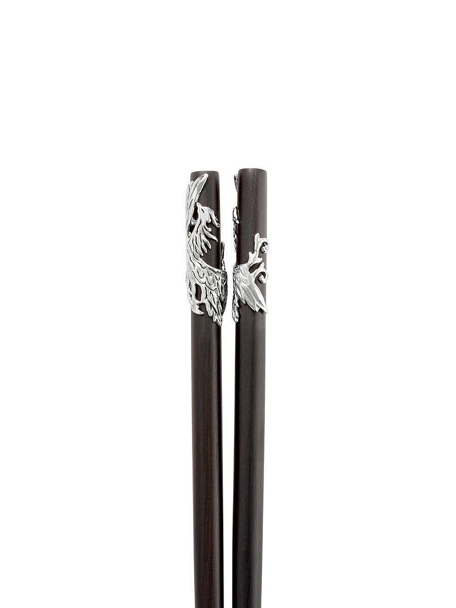 Phoenix Chopsticks Set (Set of 2 Pairs)