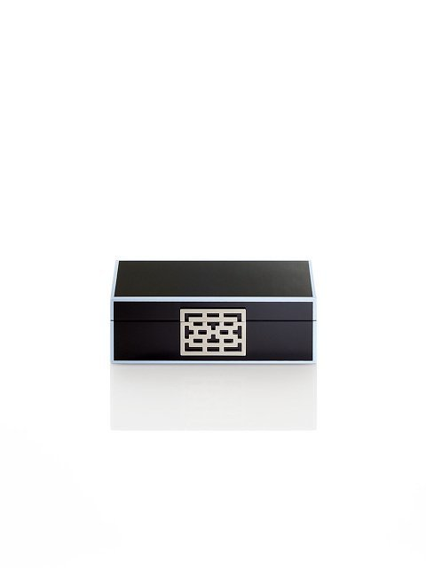 Lattice 7 Days Lacquer Cufflink Box