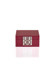 Double Happiness Women Lacquer Jewellery Box - Small
