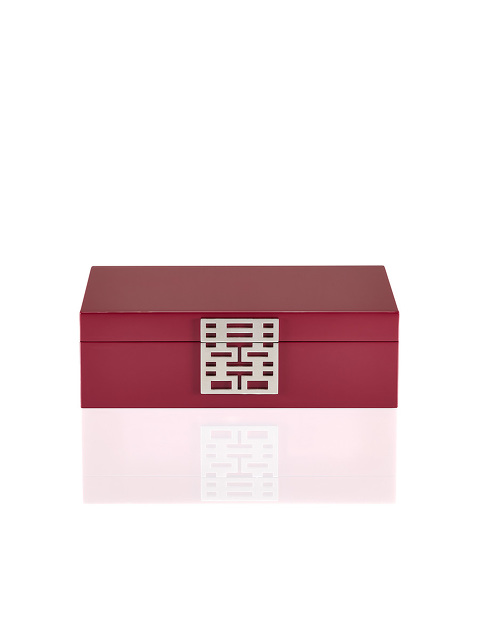 Double Happiness Lacquer Jewellery Box – Medium
