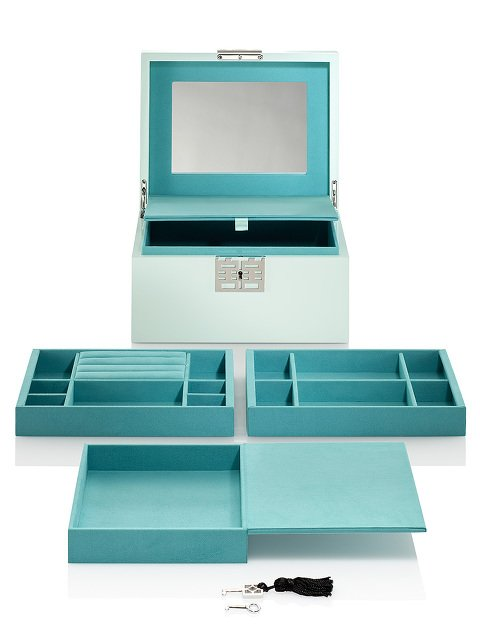 Double Happiness Lacquer Jewellery Box – Large