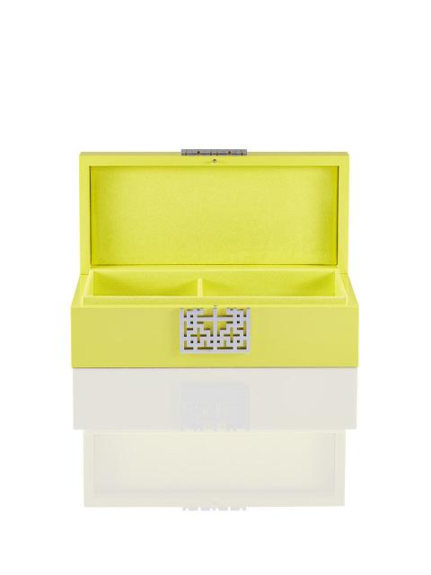 Lattice Lacquer Jewellery Box – Medium