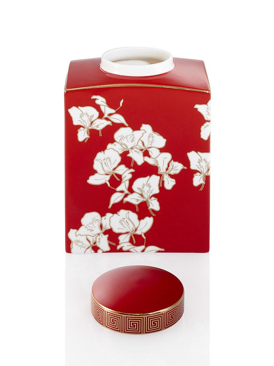 Ginger Flower Jar (Medium)