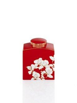 Ginger Flower Jar (Small)