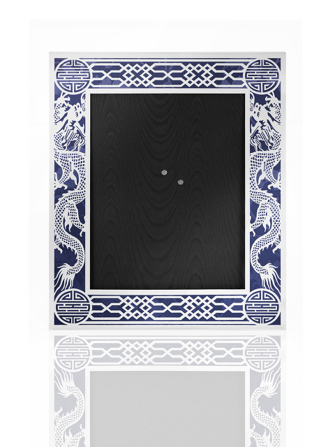 8R Dragon Filigree Photo Frame