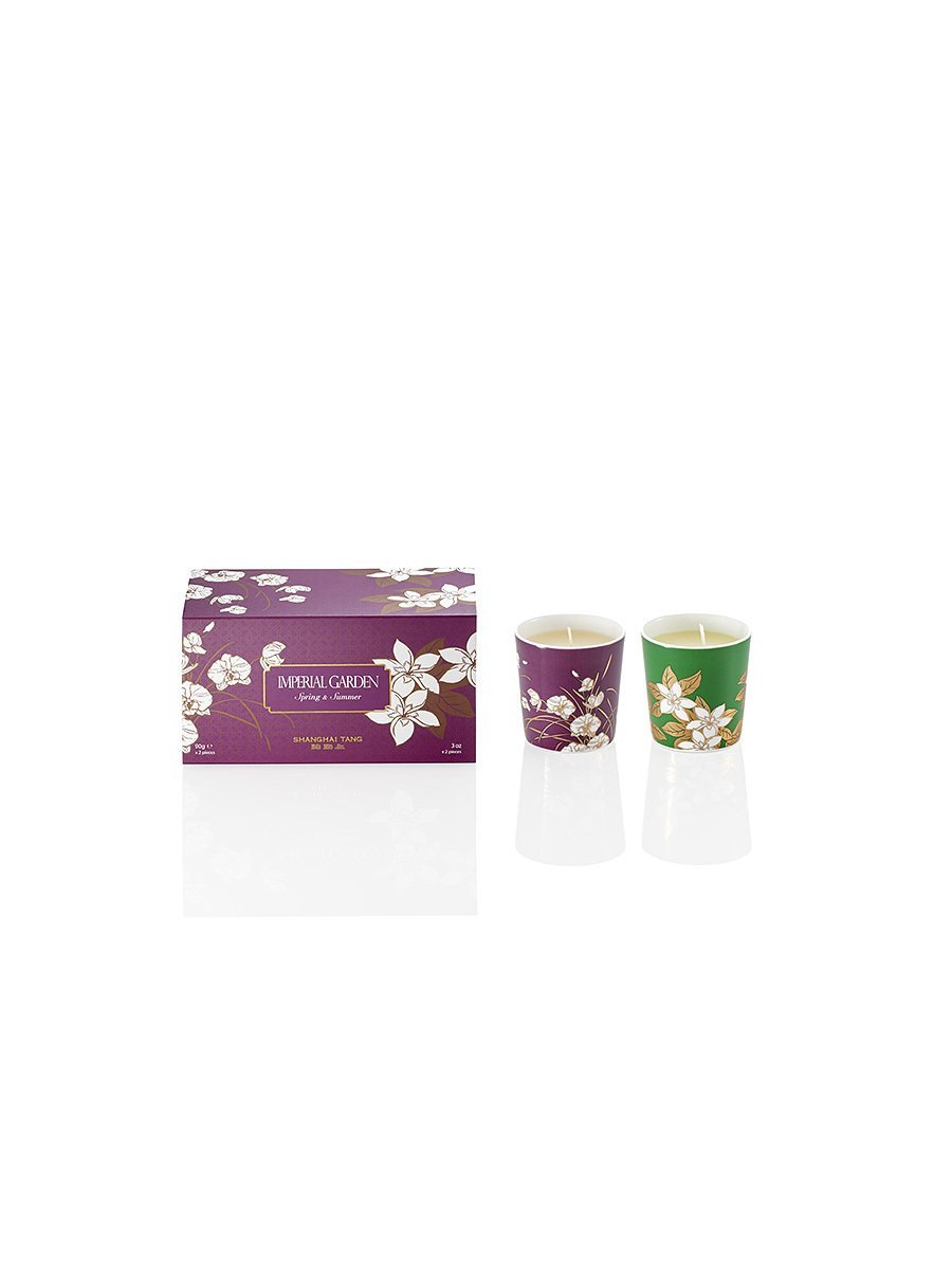 Spring & Summer Imperial Garden Mini Candles (Set of 2)