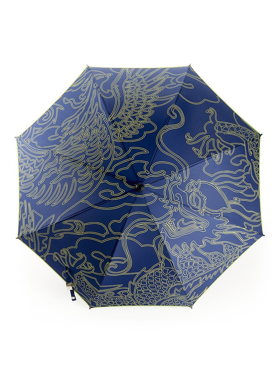 Dragon and Phoenix Long Umbrella