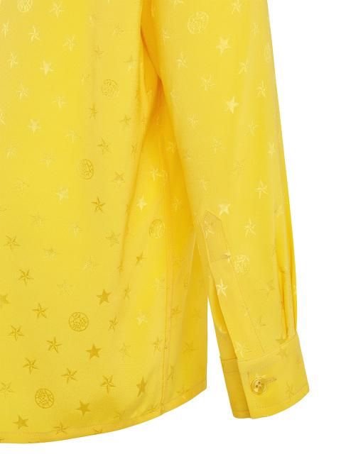 Star Jacquard Silk Kids Tang Shirt