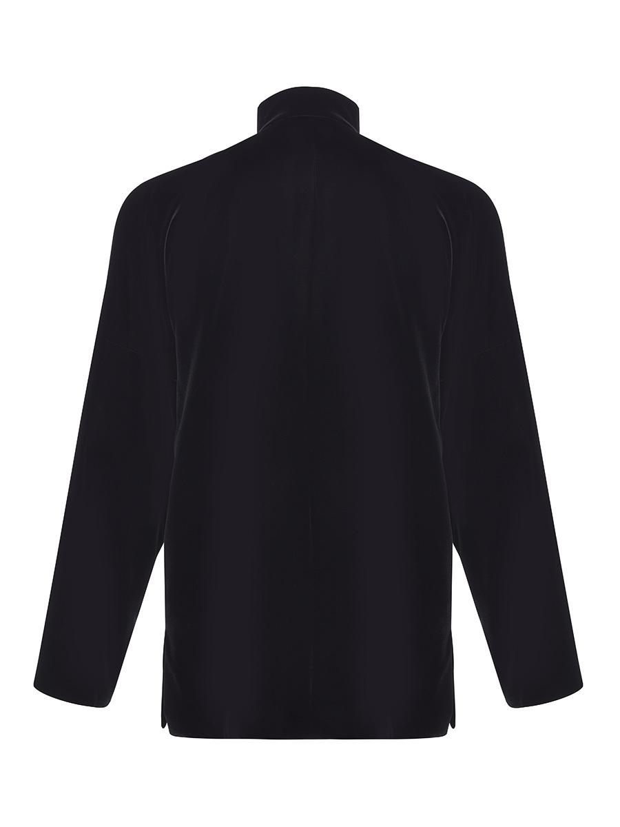Velvet Tang Jacket with Dragon Silk Lining