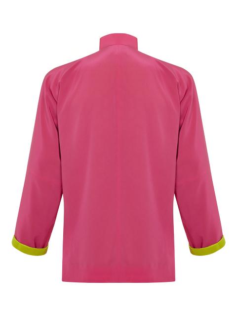 Silk Crepe Unisex Tang Jacket