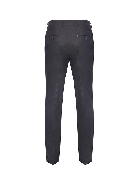 Contrast Stitch Slim Fit Trousers