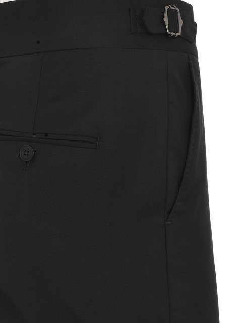 Light Wool Slim Fit Trousers
