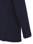 5 Buttons Mandarin Collar Jacket