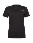 Bird Embroidery Cotton Round Neck T-shirt