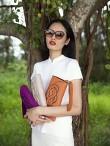 Silk Cotton Jersey Qipao Top