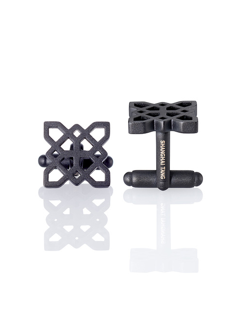 Black Lattice Cufflinks
