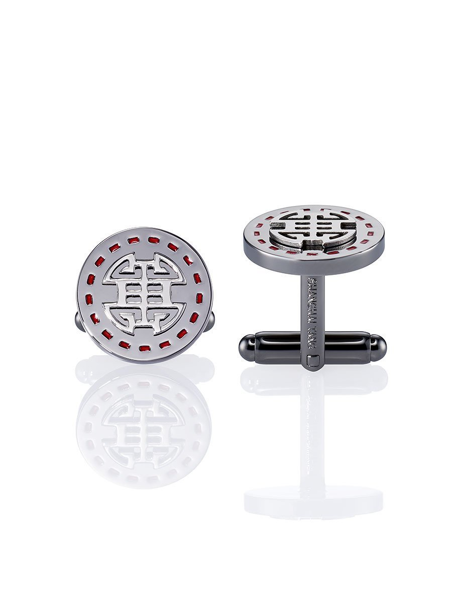 Stamp Shou Cufflinks