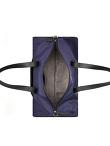 Motif Embroidery Gym Duffle Bag with Waterproof Zip