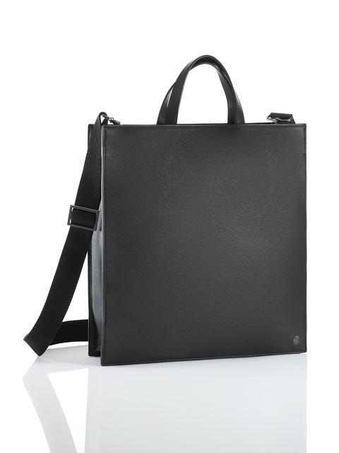 Leather 2-way Crossbody Top Handle Bag