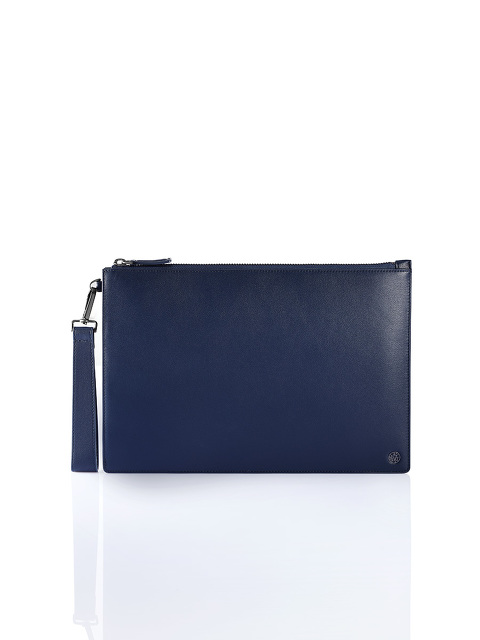 Wristlet Flat Leather Pouch
