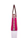 Koi Print Nylon Shopper Bag
