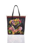 Phoenix Print Nylon Shopper Bag