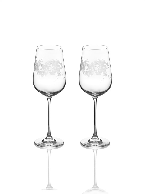 Dragon Wine Glass Set of 2