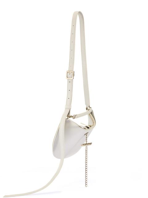 Yuni Ahn for Shanghai Tang Leather Mini Fortune Cookie Bag