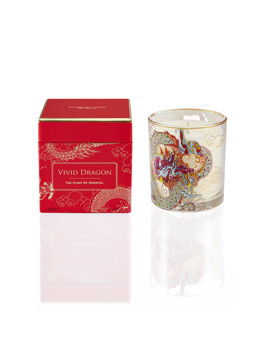 Vivid Dragon Scented Candle