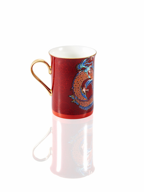 Vivid Dragon Fine Bone China Mug