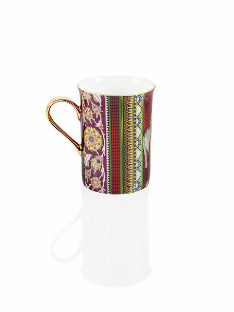 Mongolian Nomad Fine Bone China Mug