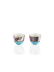 Mongolian Nomad Chinese Tea Cup Set Of 2