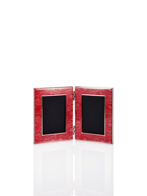 Prosperity Shou Enamel Photo Frame 4R Double