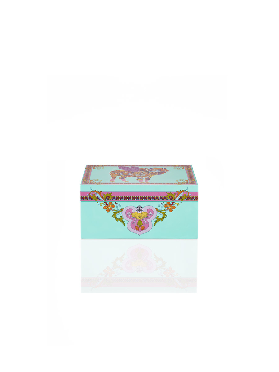 Pig Lacquer Jewellery Box S