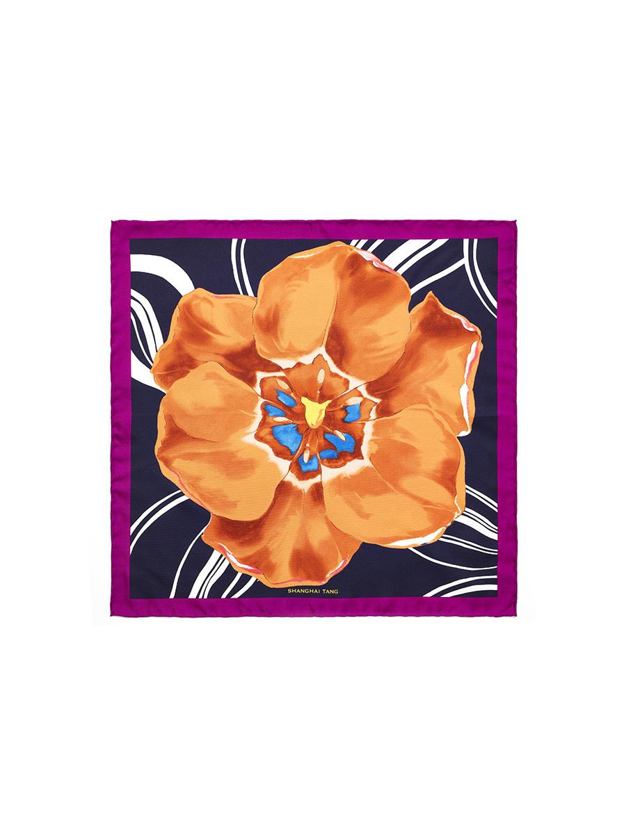 Tulip Pocket Square