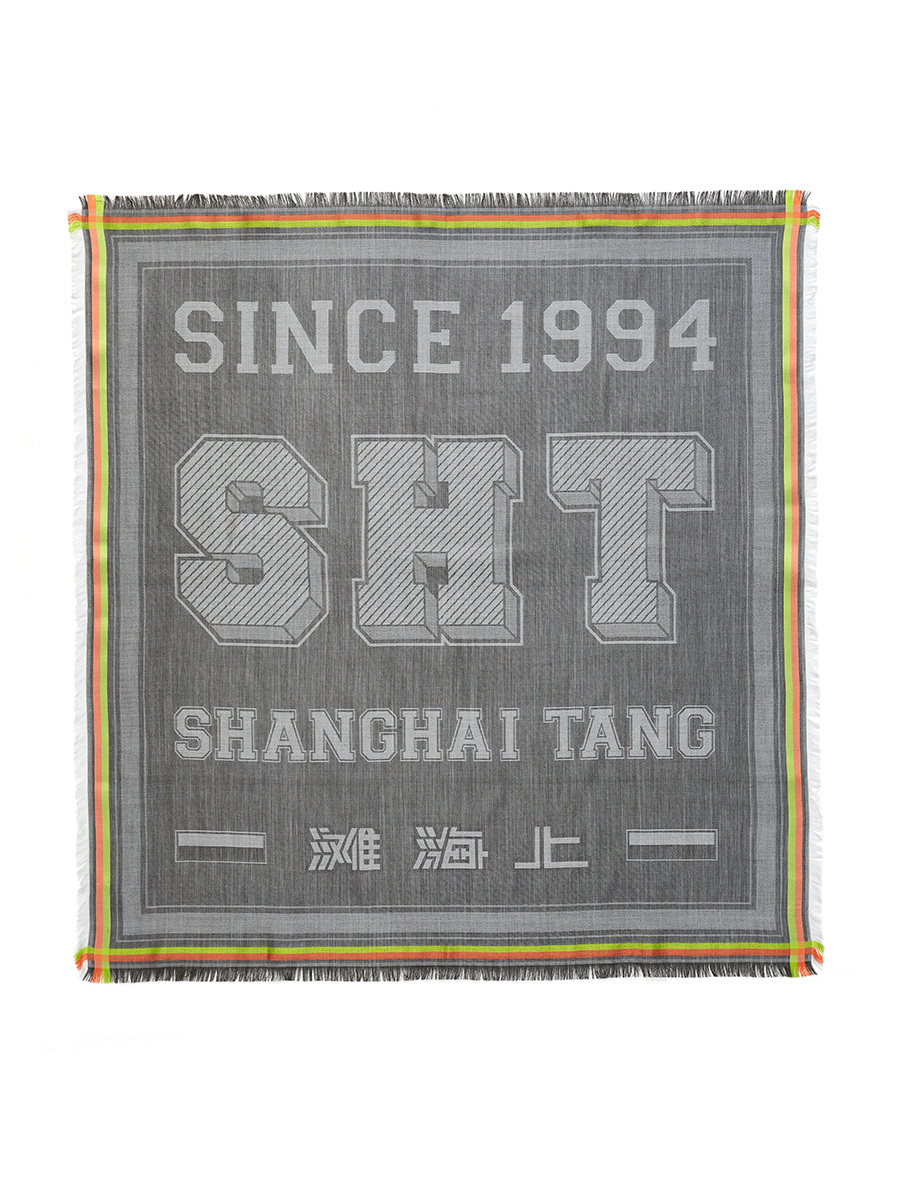 Sht Wool Silk Square