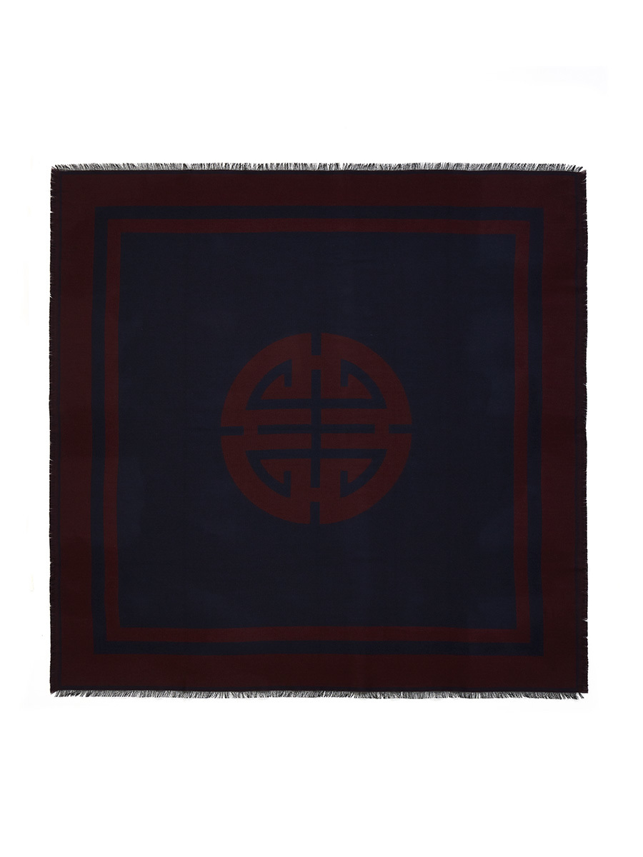 Shou Wool Silk Blend Square