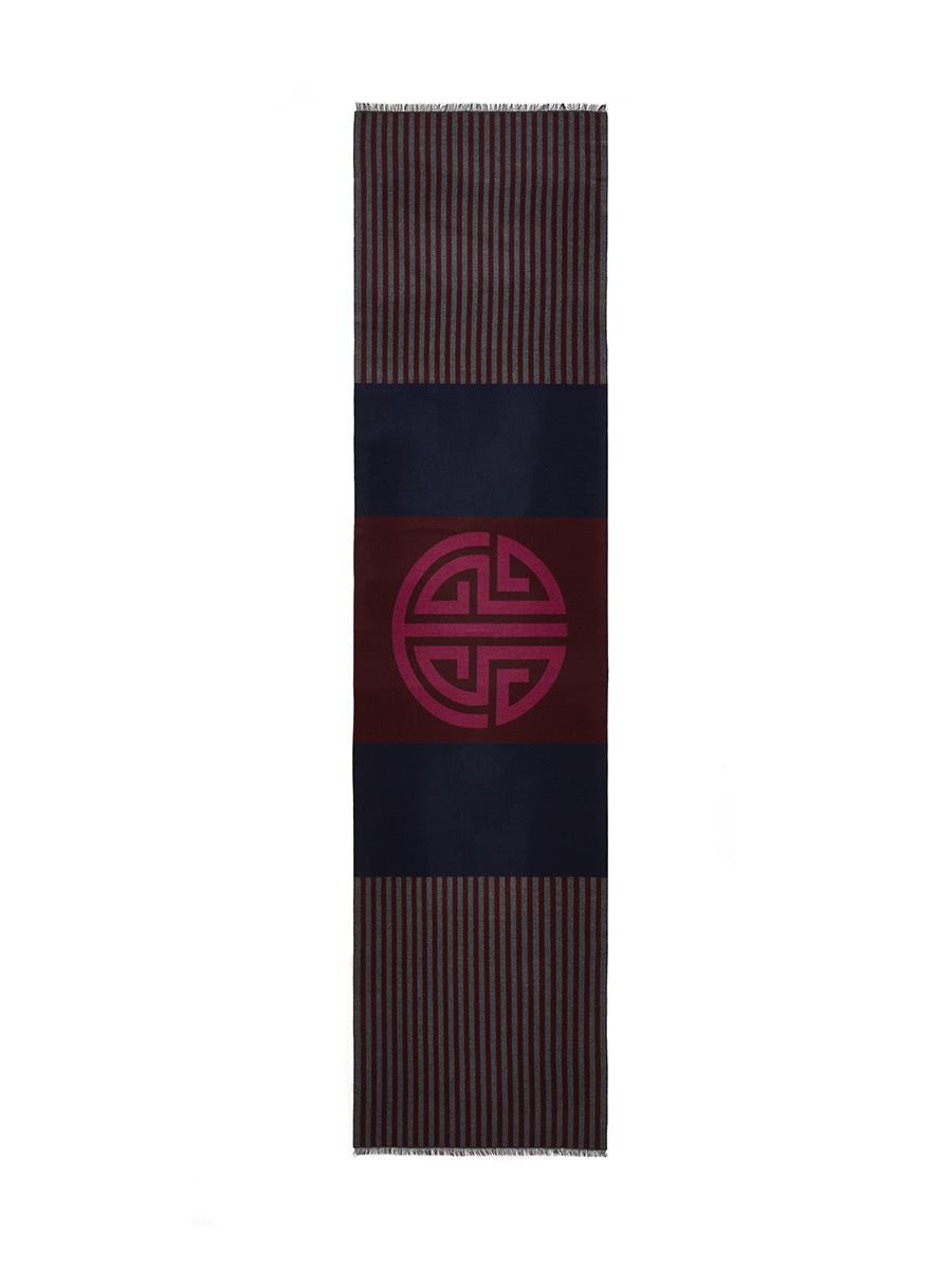 Shou Barre Wool Cotton Scarf