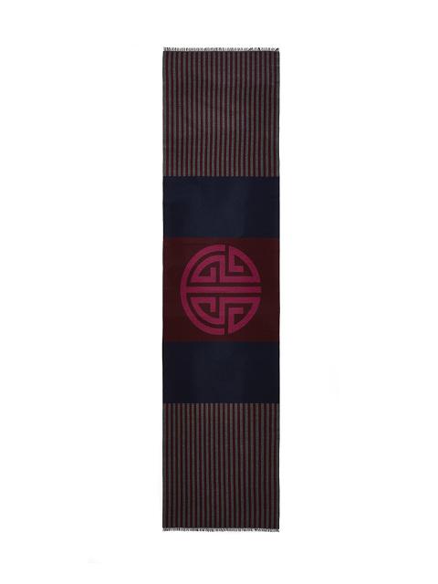 SHT Shou Barre Wool-cotton Scarf